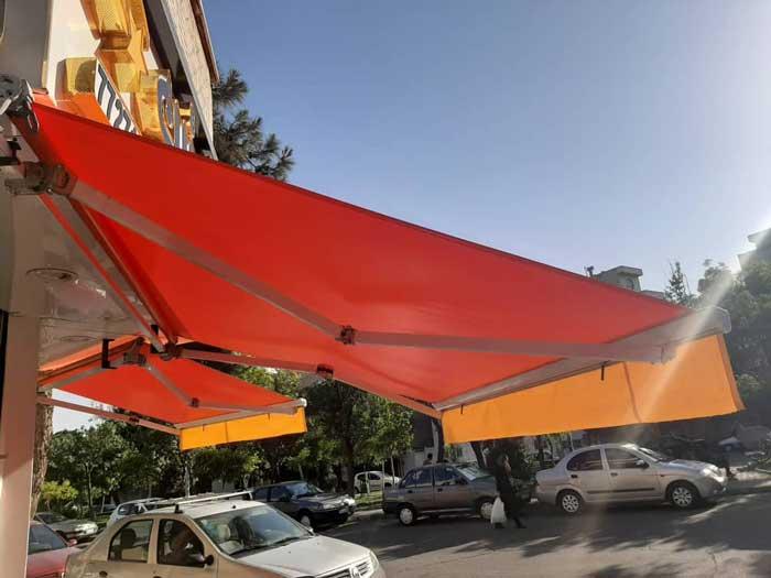 سایبان تهران - سایبان برقی